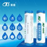Apf-600 het nat-toegepaste Gewijzigde Waterdichte Membraan van het Bitumen met de Stof die van de Polyester Laag versterken