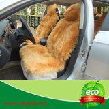 Tampa de assento confortável do carro da pele de carneiro da pele