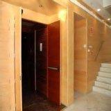 A porta de fogo de madeira com UL e Bm Trada certificou