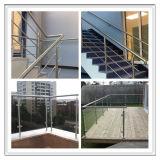 屋内および屋外のためのステンレス鋼のバルコニーの手すり(8001)