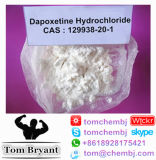 Dapoxetine/hidrocloro CAS de Dapoxetine: 129938-20-1 pó cru