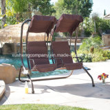 デラックスな恋人の庭のテラスの振動椅子