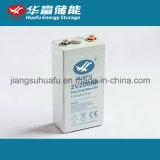 batteria solare ricaricabile della batteria 2V 200ah di alta qualità 2V