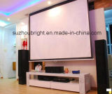 80-400 schermo di proiezione fissato al muro di pollice