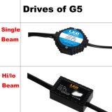 Brilhante super! ! ! Farol do feixe de Lo do farol do diodo emissor de luz G5 olá! para auto H11 H4 H7 9005 9006