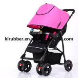 Passeggiatore di alluminio del bambino del carrello del bambino di alto paesaggio superiore