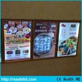 Bekanntmachender LED-Bildschirmanzeige-Menü-heller Großhandelskasten für Gaststätte