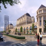 Визуализирование европейского типа селитебное архитектурноакустическое с восхитительной работой