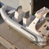Venta inflable del barco del deporte de la costilla del bote de salvamento rápido de Liya los 5.2m