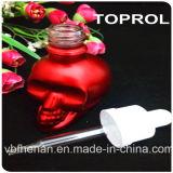 Frasco de vidro do crânio 30ml fresco com tampão sem perigo para as crianças e o conta-gotas fino em Toprol