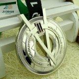 カスタムデザイン銀製のロシアのオリンピックメダル表をくり抜きなさい
