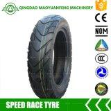 3.50-10 Motorrad-Gefäß-schlauchloser Gummireifen-Reifen