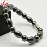 標準的なデザイン磁気赤鉄鉱はブレスレットの治療の人のブレスレットの卸売に玉を付ける