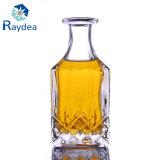 Квадратная стеклянная бутылка для вискиа 150ml