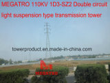 Doppio tipo torretta della sospensione dell'indicatore luminoso del circuito di Megatro 110kv 1d3-Sz2 della trasmissione