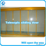 Телескопичные приводы двойника оператора раздвижной двери