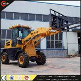 中国製造業者10年の1.2トンの小型車輪のローダー