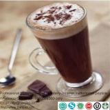 コーヒーまたはミルクの茶のためのクリームを形作るミルクのトッピングのクリーム