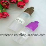 bouteille de compte-gouttes de LDPE 10ml pour Eliquid/E-Cigarette/Ejuice avec le chapeau sans danger pour les enfants