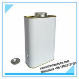 金属ねじ帽子との1liter金属錫Can_Container_