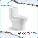 Het Ceramische Toilet Uit één stuk van de Kast van Siphonic van de badkamers (AT0100)