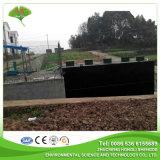 Tratamiento de aguas residuales conjunto enterrado con el certificado del Ce