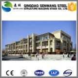 Edificio prefabricado de la estructura de acero para la oficina del mercado estupendo del hotel