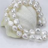 Monili stabiliti della perla reale dell'argento sterlina di bianco 925 del grado di Snh 10mm aa