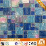 プール(H455001)のための曇った青いガラスモザイク