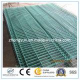 El panel de acoplamiento soldado cubierto polvo verde de alambre