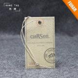 Kraftpapier-Schwingen-Karten-Fall-Marke für Kleidung