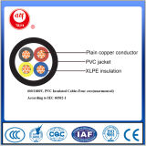 El IEC 60502-1 600/1000V, el PVC aisló los cables para cuatro memorias (unarmoured)