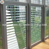 il vetro degli otturatori di vetro della feritoia di 6mm acceca il vetro per la finestra