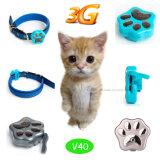 Rastreador GPS impermeável mais popular para gatos / cães com colar ajustável (V30)