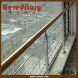 Opgepoetste de buitenkant beëindigt het Traliewerk van de Kabel van Roestvrij staal 304 (sj-682)