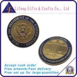 Nós selo do fabricante da moeda do desafio da águia 3D