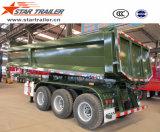 3 трейлер Tipper Axles 40-60tons Собственн-Сбрасывая Semi