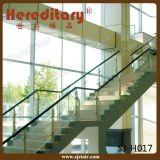 屋内ステアケース(SJ-H002)のためのステンレス鋼のガードレールDIYケーブルの管の柵
