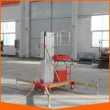 安全テストを単一の人の使用のためのアルミニウム梯子の上昇
