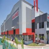 Prefab светлый розничный магазин стальной структуры