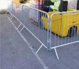 Barriera galvanizzata di controllo di folla di traffico