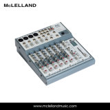 すべての入力チャネル(LM-800)の3バンドEQが付いている8つのチャネルの混合コンソール