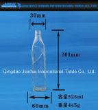 Schmal-Mouthed Glasflasche für Ginegelly Öl