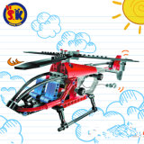 Plastic Rescuer Helicopter Blocks Toy for Kids