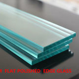 8mmの平らな磨かれた研がれた明確な引出しの家具ガラス