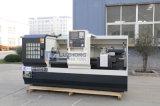Ck6150トップレベル金属の水平の平床式トレーラーCNCの旋盤機械