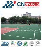 Cancha de básquet de goma estándar de la alta calidad de solar de los deportes