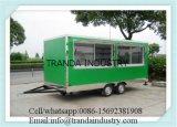 De Aanhangwagen van de Verkoop van de Straat van het Roestvrij staal van de Karren van de Verkoop Eecstreet van Ce ISO UL