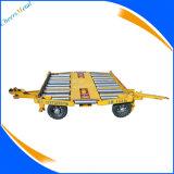 空港容器のトロッコの牽引のトレーラー