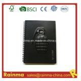 Черный PVC Paper Notebook с ручной гранатой Shape